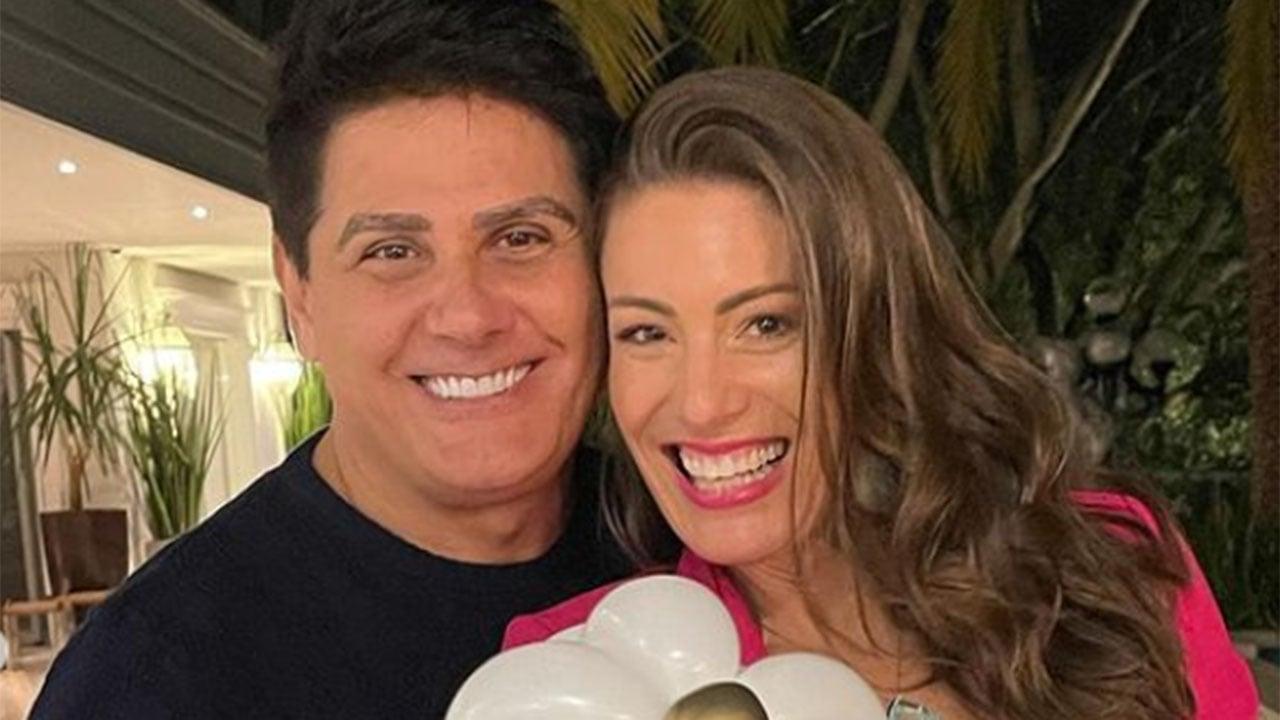 Cesar Filho e Elaine Mickely - Crédito: Reprodução / Instagram