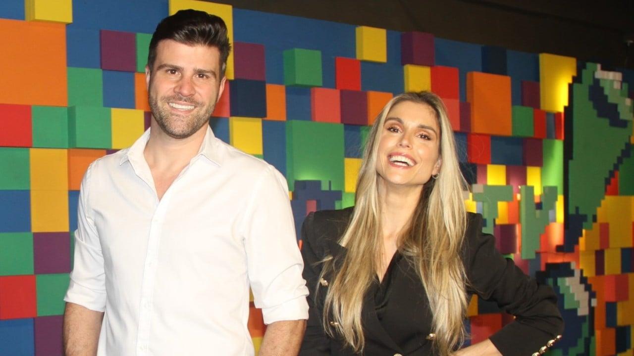 Flávia Viana e Marcelo Zangrandi