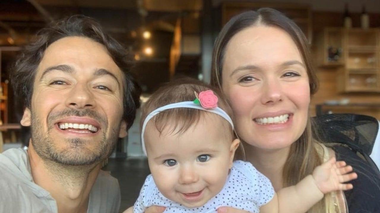 Graziella Schmitt está grávida pela segunda vez