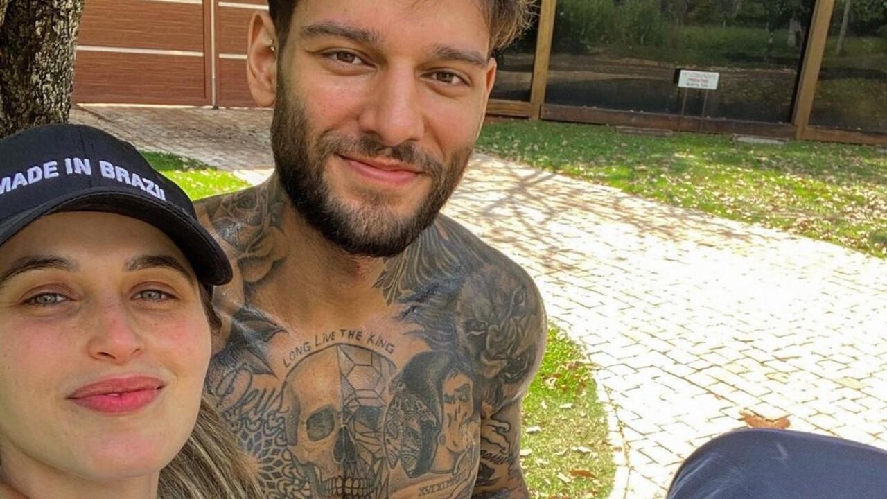 Lorena Carvalho e Lucas Lucco