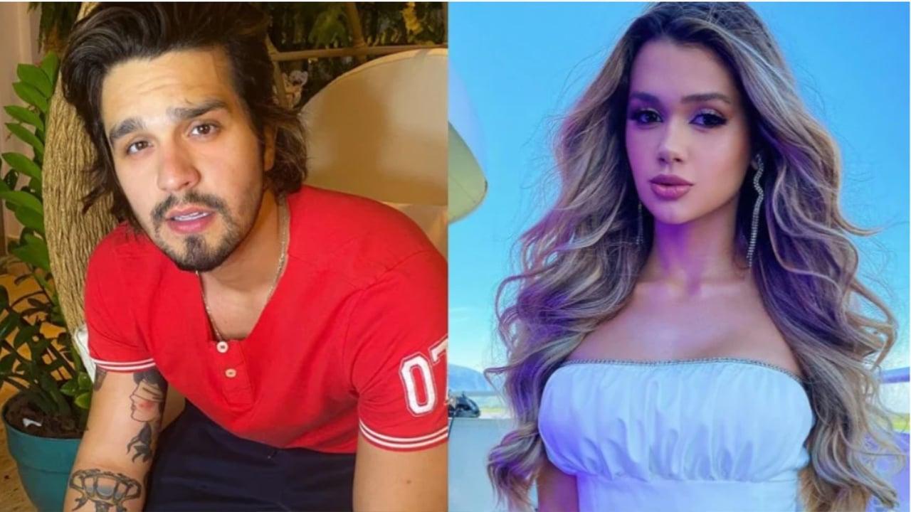 Luan Santana e Franciny - Crédito: Reprodução / Instagram