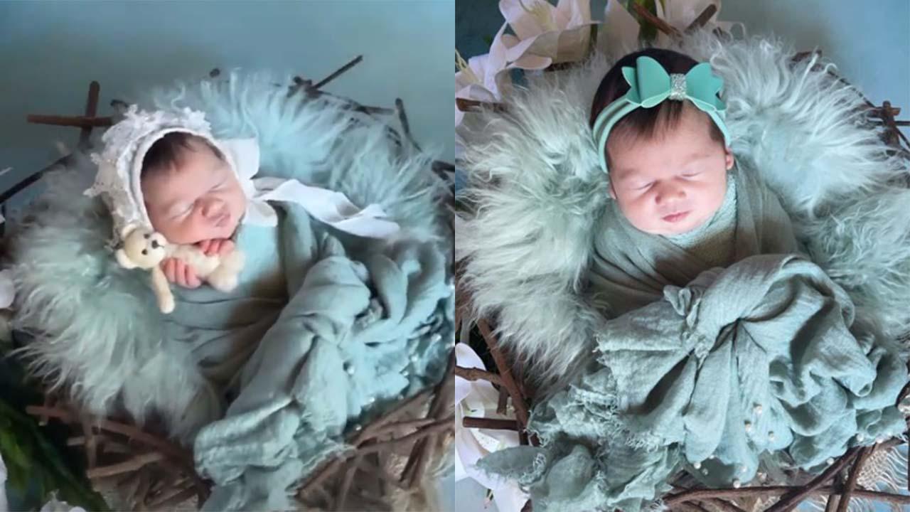 Virginia Fonseca mostra os bastidores do ensaio newborn da filha - Crédito: Reprodução / Instagram