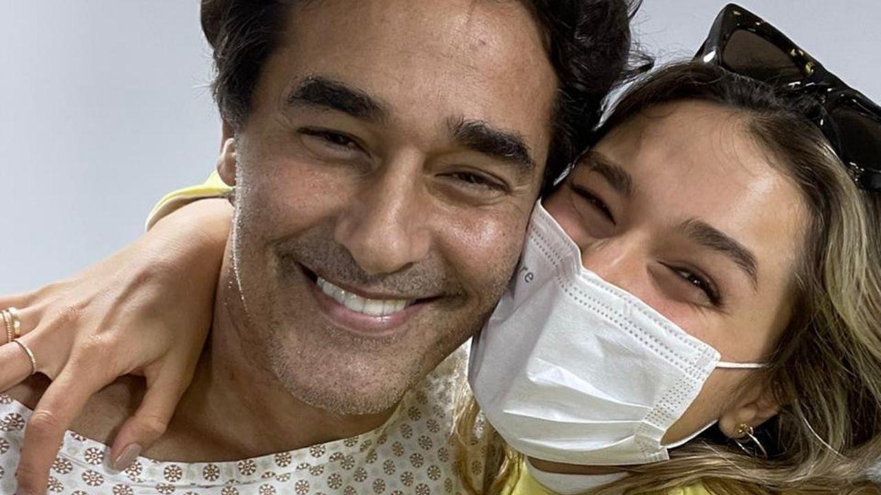 Luciano Szafir se declara à filha, Sasha Meneghel. Foto: Reprodução/Instagram