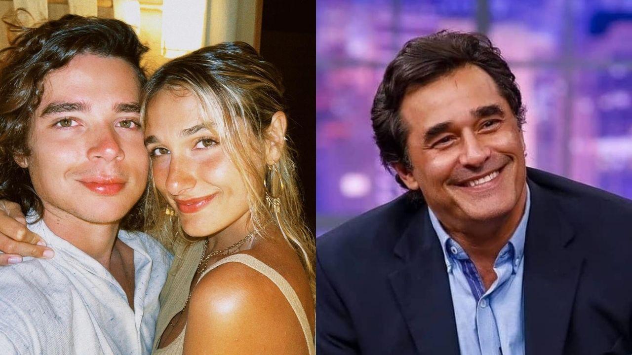 Sasha Meneghel e João Figueiredo visitam Luciano Szafir no hospital. Foto: Reprodução/Instagram