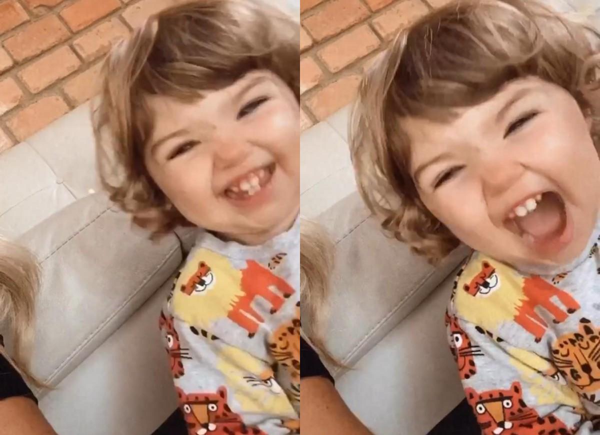 Clara Maria, filha de Tata Werneck e Rafael Vitti - Crédito: Reprodução / Instagram