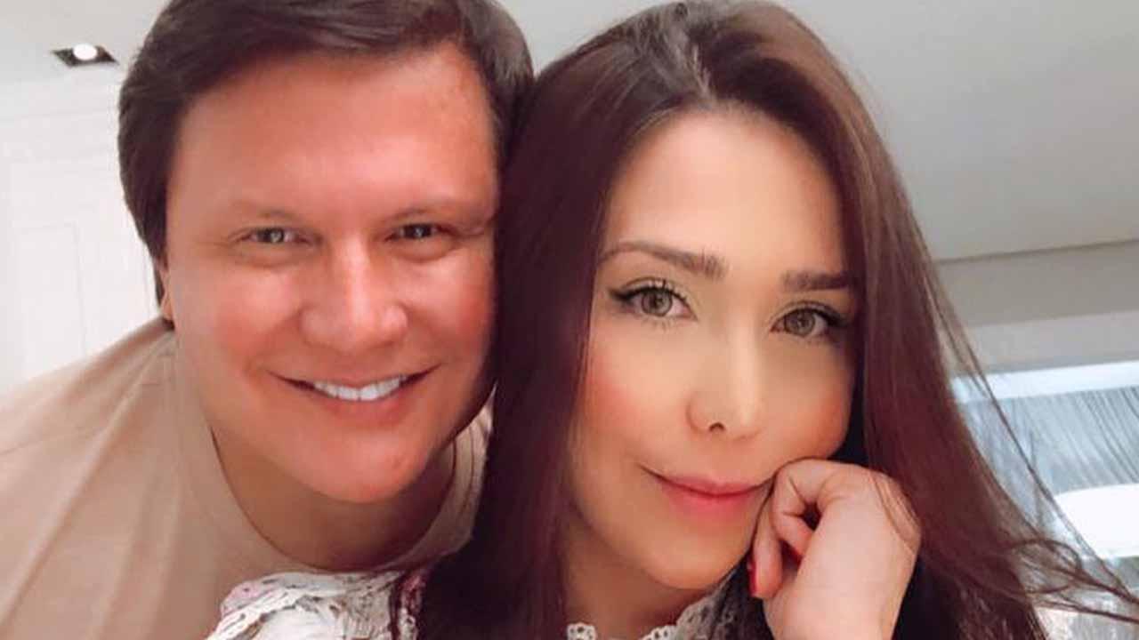 Giovani e a esposa, Anna Carolina - Crédito: Reprodução / Instagram