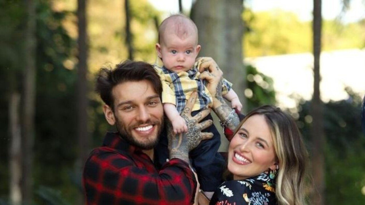 Lucas Lucco, Lorena Carvalho e filho, Luca
