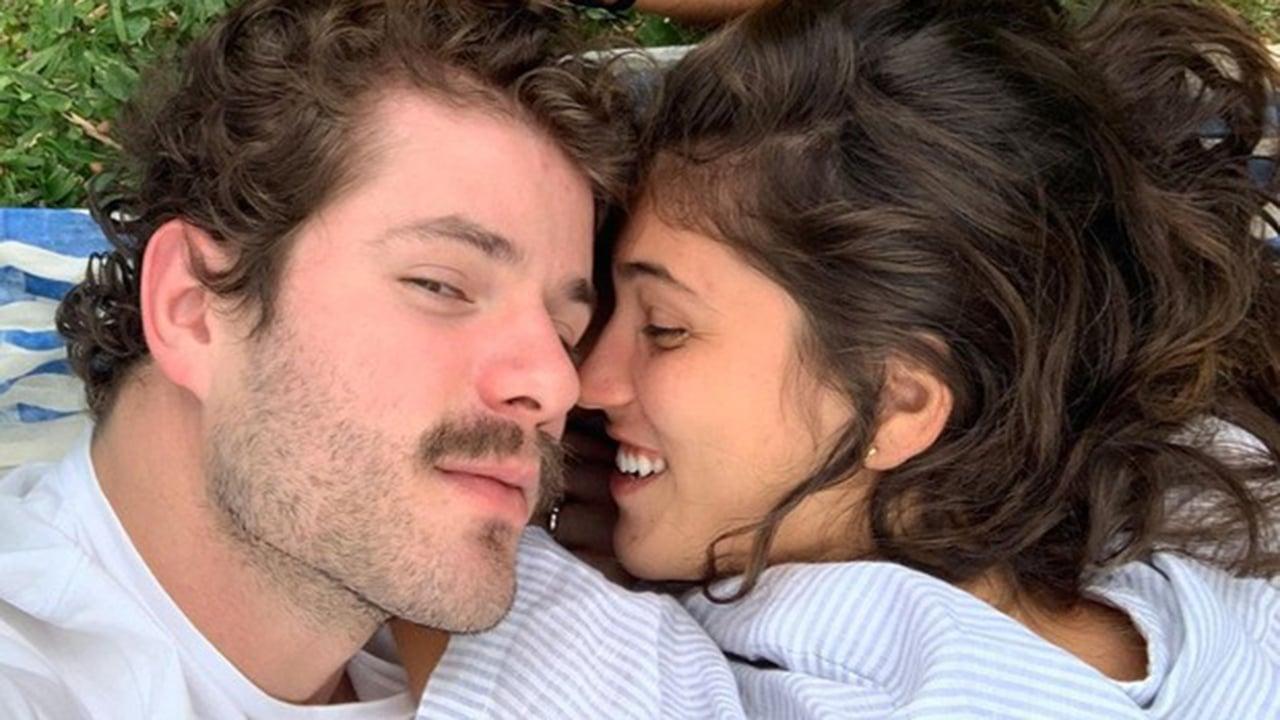 Mauricio Destri e a namorada, Sabrina Samel - Crédito: Reprodução / Instagram
