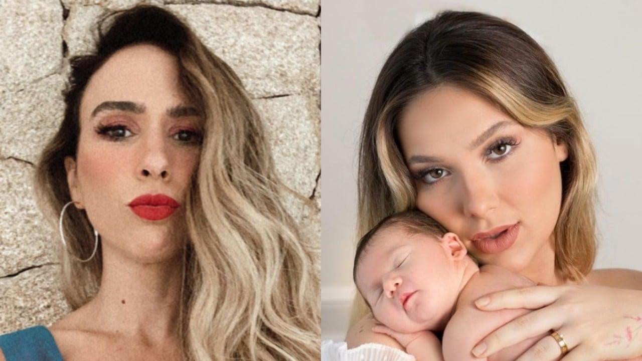 Tatá Werneck defende Virgínia Fonseca após críticas por desmame da filha