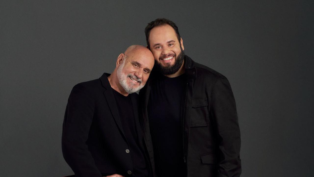Zé Alexanddre e o filho, Amure Pinho - Crédito: Divulgação