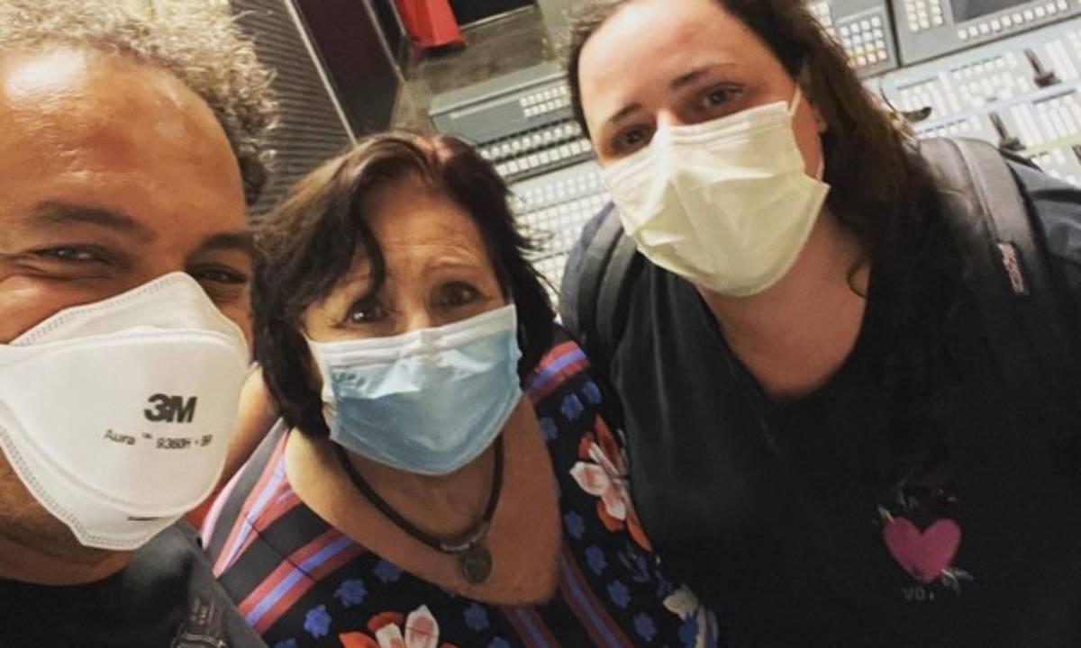 Zé Ricardo, Déa Lucia e Ju Amaral (Foto: Reprodução/Instagram)
