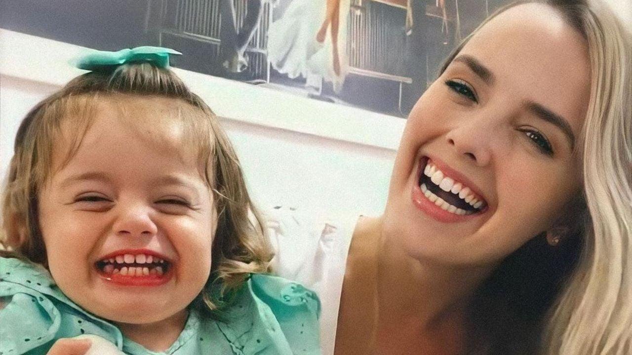 Thaeme mostra momento encantador com a filha, Liz. Foto: Reprodução/Instagram