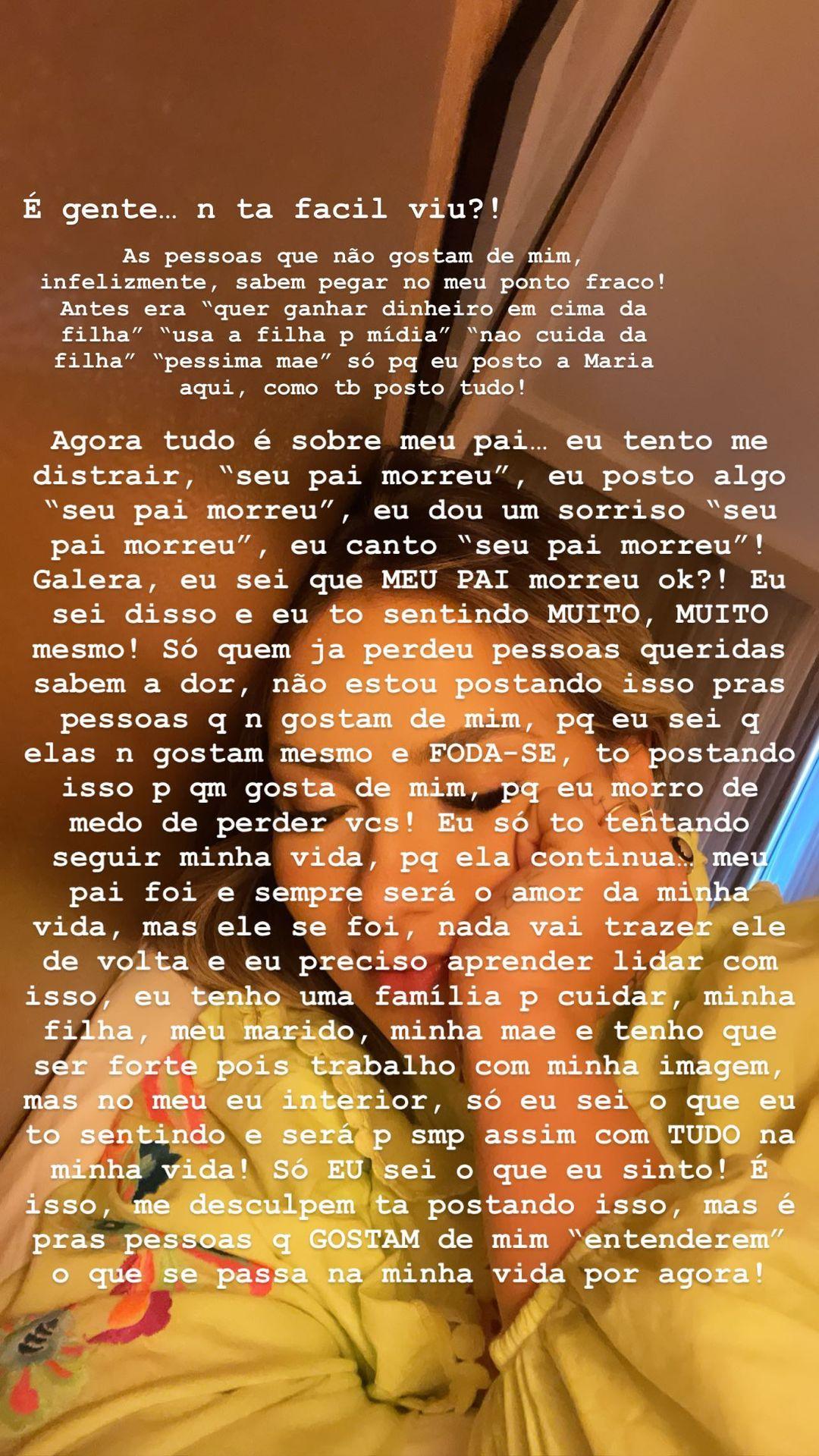 Virginia Fonseca faz desabafo - Crédito: Reprodução / Instagram