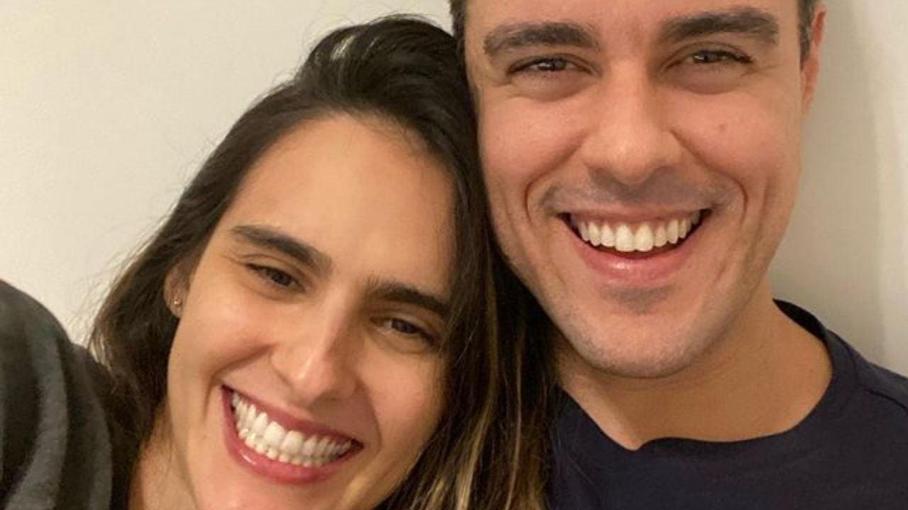 Marcella Fogaça e Joaquim Lopes. Foto: Reprodução/Instagram