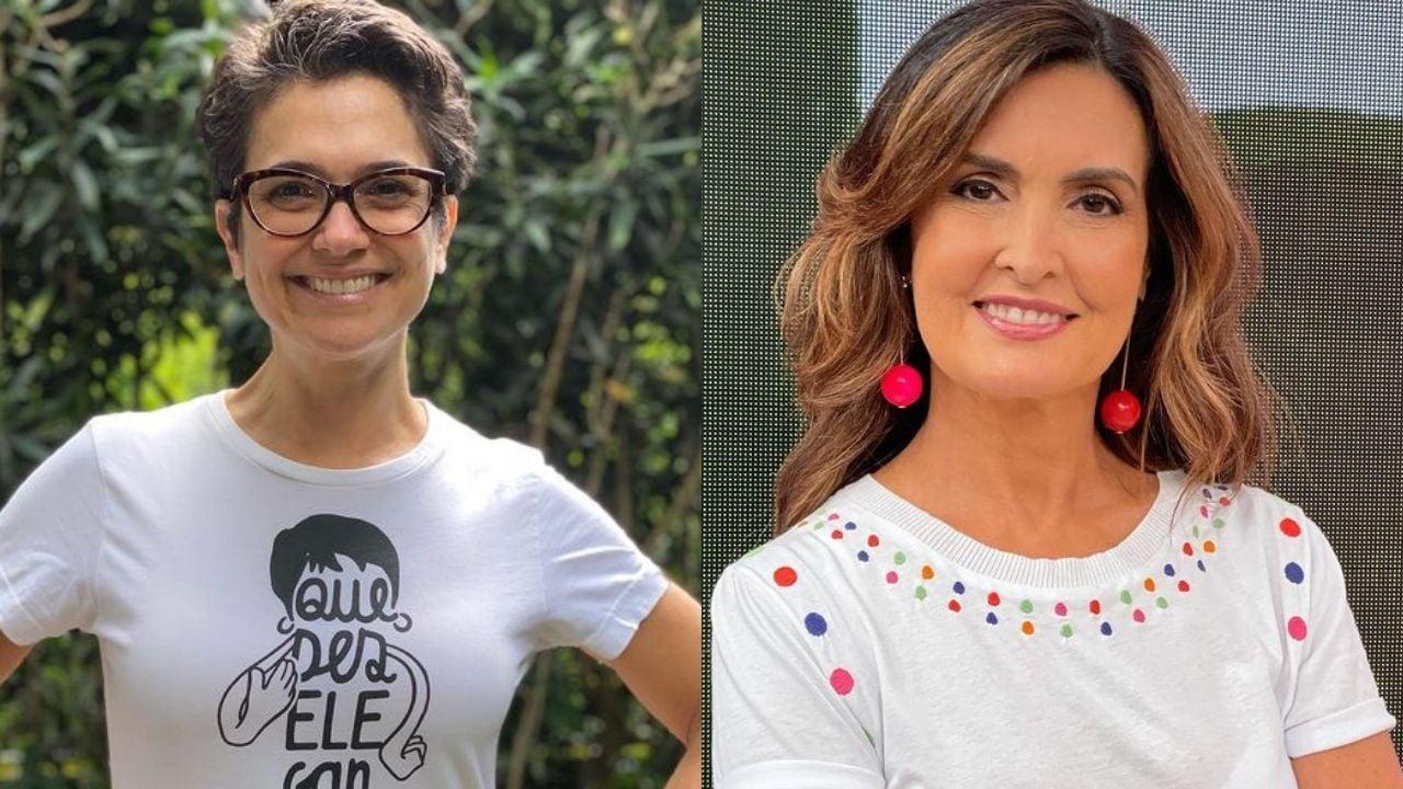 Sandra Annenberg e Fátima Bernardes. Foto: Reprodução/Instagram