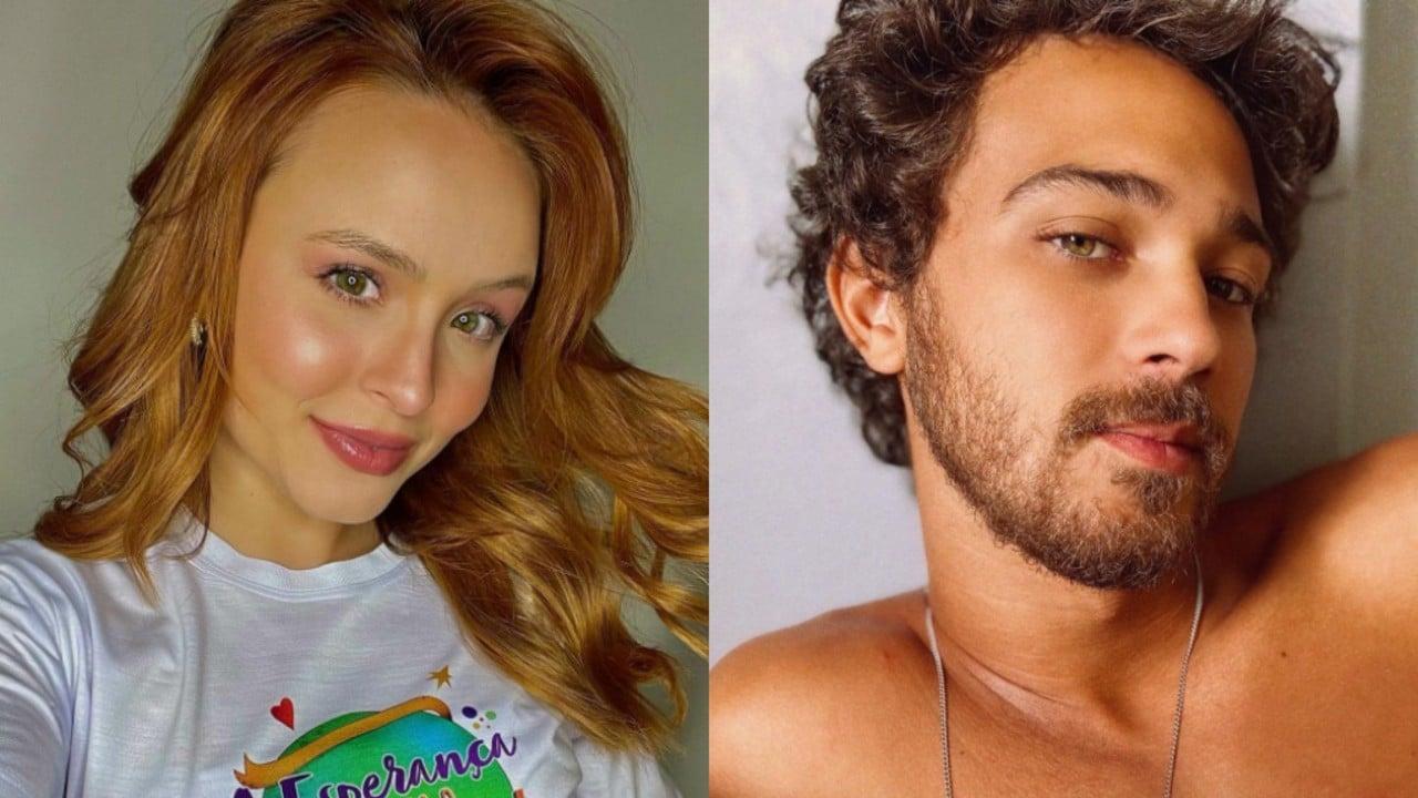 Após assumir romance com Larissa Manoela, André Luiz Frambach nega que traiu a ex