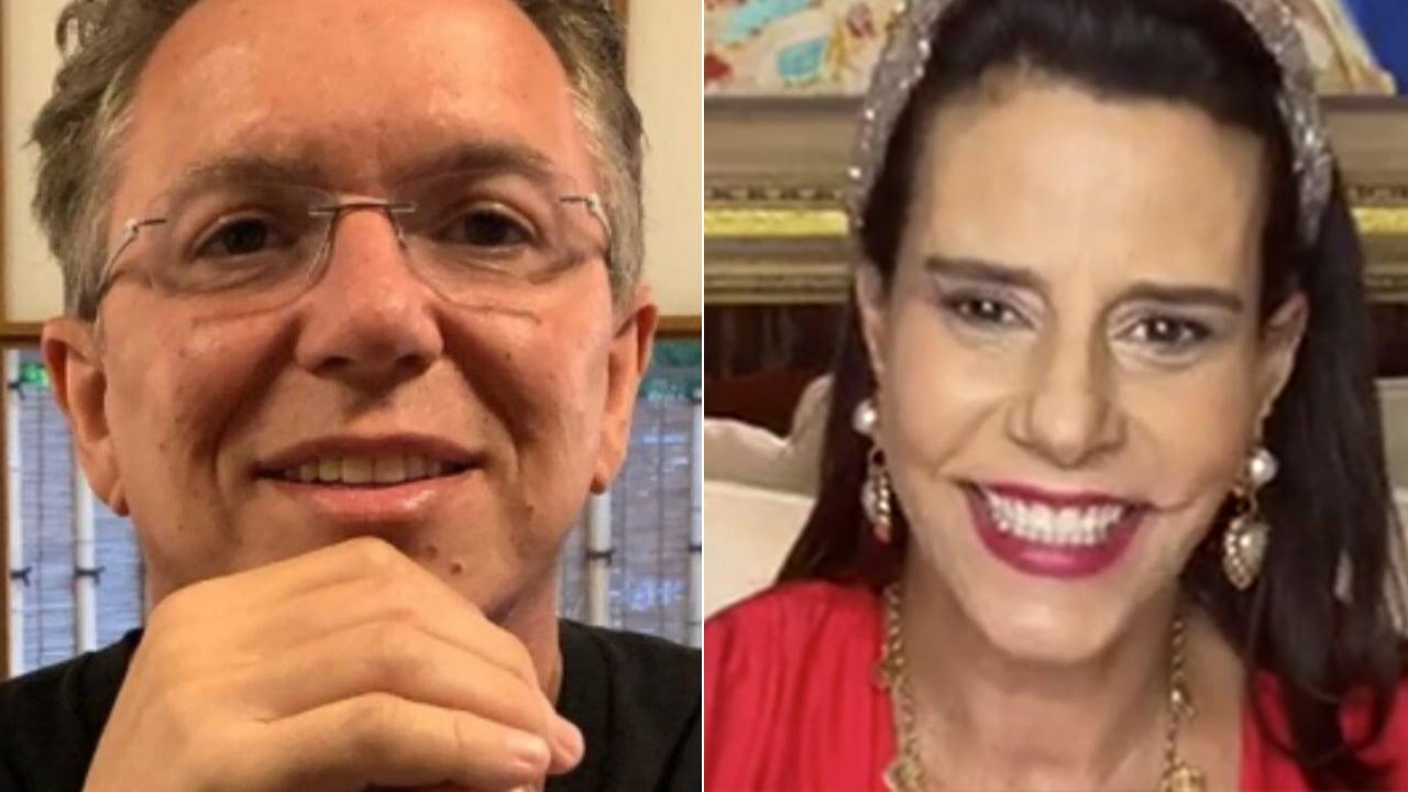 Boninho e Narcisa Tamborindeguy - Crédito: Reprodução / Instagram