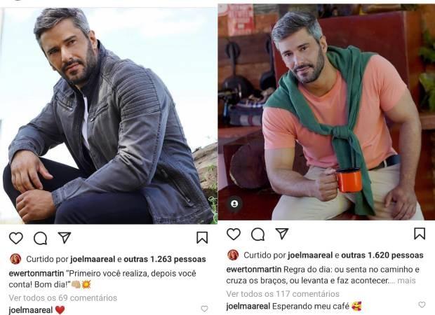 Joelma troca mensagens com fazendeiro - Crédito: Reprodução / Instagram