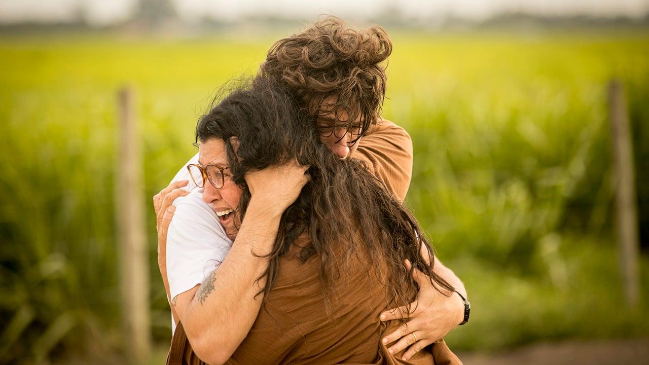 Lurdes (Regina Casé) e Danilo / Domênico (Chay Suede) em cena da novela Amor de Mãe - Crédito: Globo / João Cotta