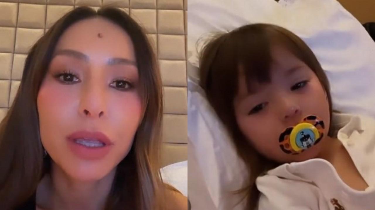 Sabrina Sato deixa trabalho às pressas após susto com a filha: 'Fiquei desesperada'