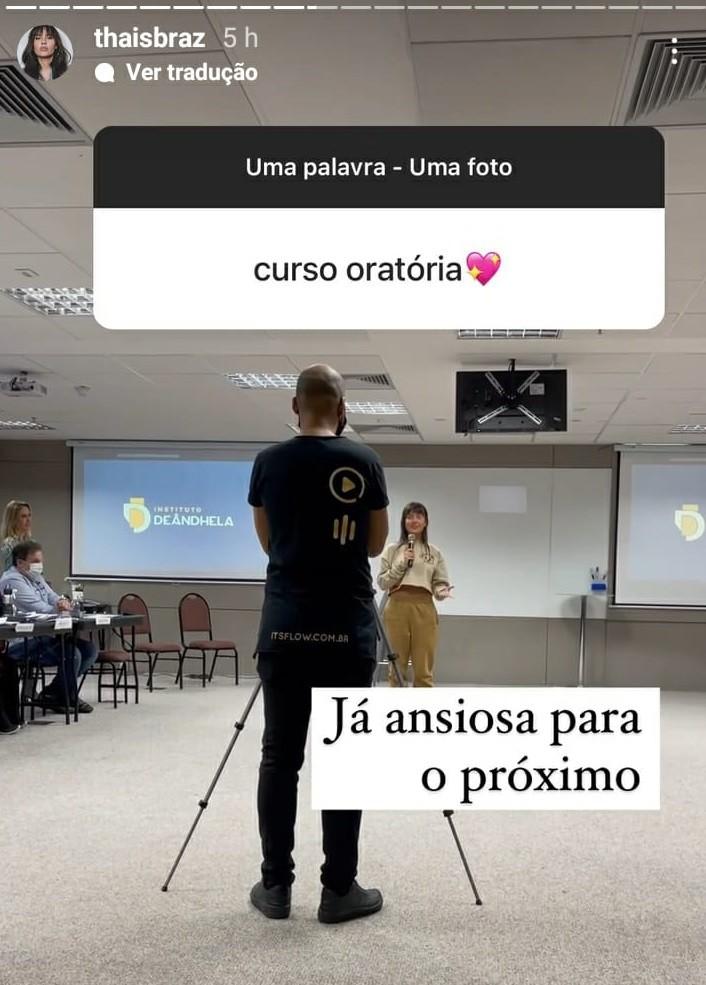 Thaís Braz - Crédito: Reprodução/ Instagram
