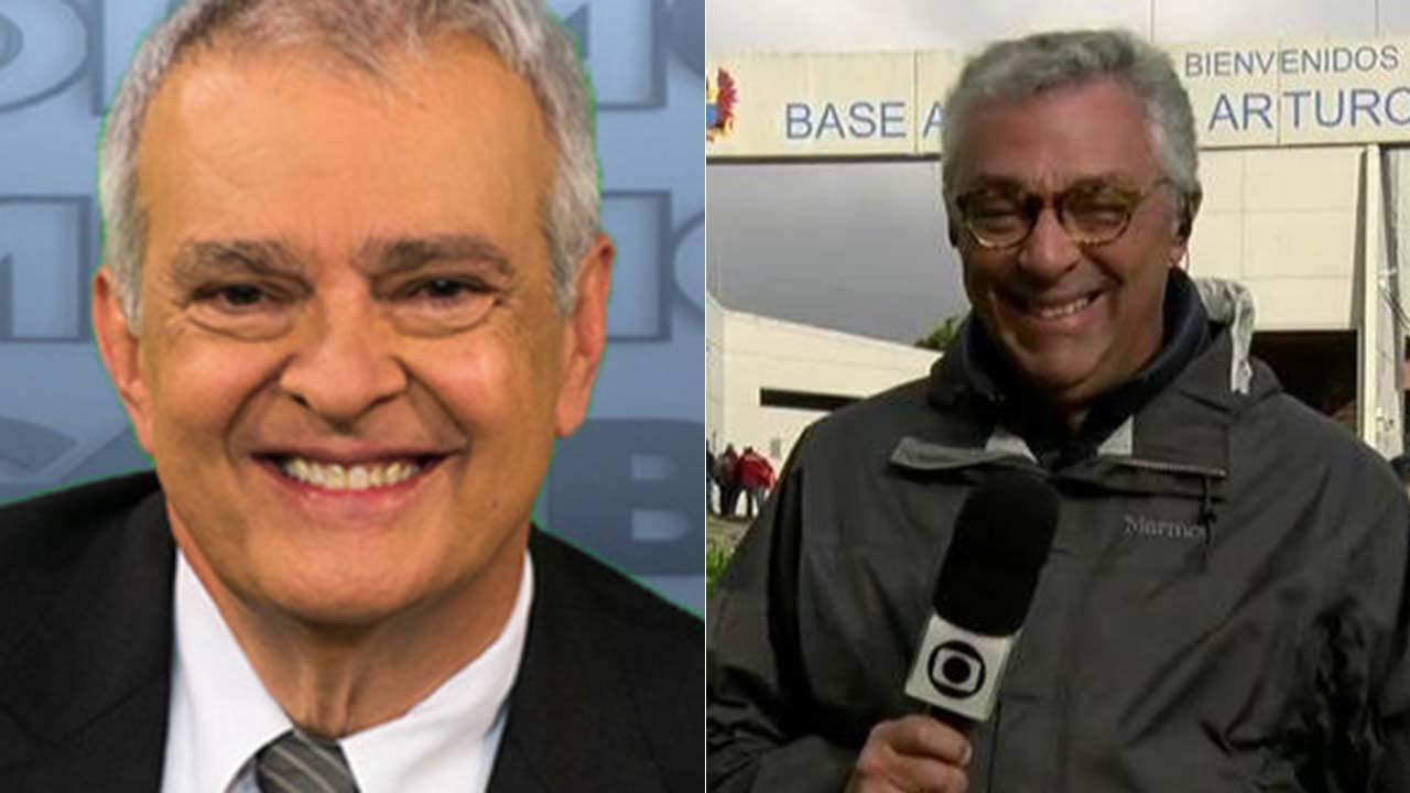 Alberto Gaspar e Ari Peixoto - Crédito: Reprodução / Globo